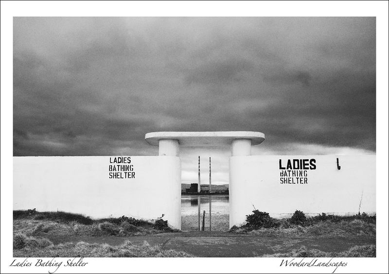 Ladies bathing shelter
